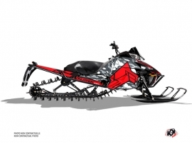 Arctic Cat Pro Climb Snowmobile Kamo Graphic Kit Grey Red