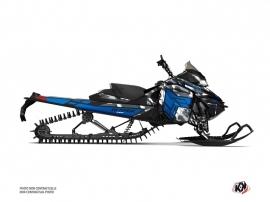 Skidoo REV XM Snowmobile Kamo Graphic Kit Grey Blue