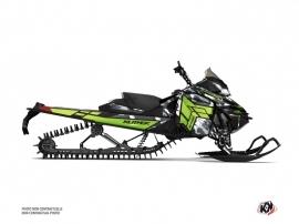 Skidoo REV XM Snowmobile Kamo Graphic Kit Grey Green