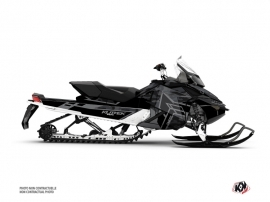 Skidoo REV XP Snowmobile Kamo Graphic Kit Grey