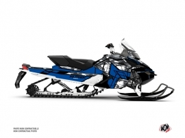 Skidoo REV XP Snowmobile Kamo Graphic Kit Grey Blue