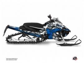 Yamaha Sidewinder Snowmobile Kamo Graphic Kit Grey Blue