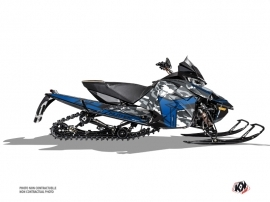 Arctic Cat Thundercat Snowmobile Kamo Graphic Kit Grey Blue
