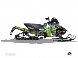Arctic Cat Thundercat Snowmobile Kamo Graphic Kit Grey Green