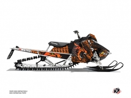 Polaris Axys Snowmobile Keen Graphic Kit Orange