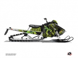 Polaris Axys Snowmobile Keen Graphic Kit Green
