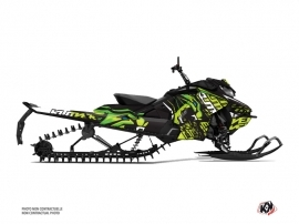 Skidoo Gen 4 Snowmobile Keen Graphic Kit Green