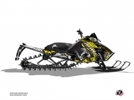 Arctic Cat Pro Climb Snowmobile Keen Graphic Kit Grey Yellow