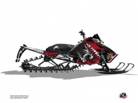 Arctic Cat Pro Climb Snowmobile Keen Graphic Kit Grey Red