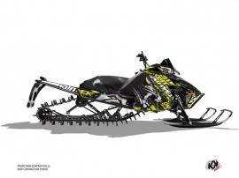 Arctic Cat Pro Climb Snowmobile Keen Graphic Kit Neon Grey