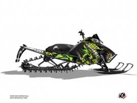 Arctic Cat Pro Climb Snowmobile Keen Graphic Kit Green