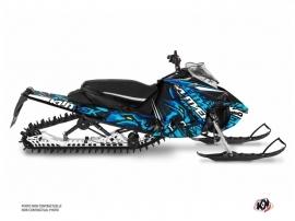 Kit Déco Motoneige Keen Yamaha Sidewinder Bleu