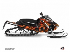Yamaha Sidewinder Snowmobile Keen Graphic Kit Orange