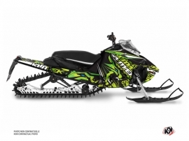 Yamaha Sidewinder Snowmobile Keen Graphic Kit Green