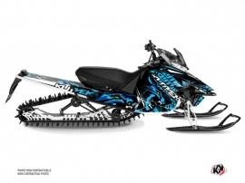 Yamaha SR Viper Snowmobile Keen Graphic Kit Blue