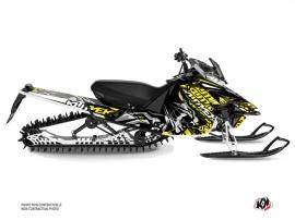 Yamaha SR Viper Snowmobile Keen Graphic Kit Grey Yellow