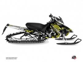 Kit Déco Motoneige Keen Yamaha SR Viper Neon Gris