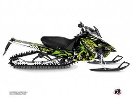 Yamaha SR Viper Snowmobile Keen Graphic Kit Green