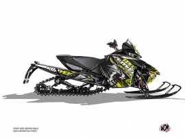 Arctic Cat Thundercat Snowmobile Keen Graphic Kit Neon Grey