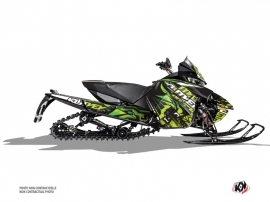 Arctic Cat Thundercat Snowmobile Keen Graphic Kit Green