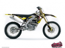 Suzuki 250 RM Dirt Bike Kenny Graphic Kit