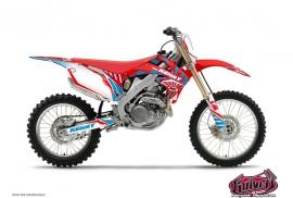 Honda 125 CR Dirt Bike Kenny Graphic Kit