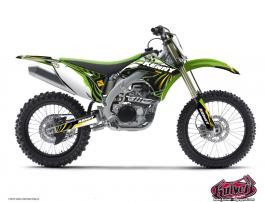 Kawasaki 250 KXF Dirt Bike Kenny Graphic Kit