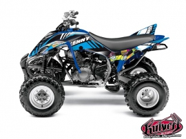 Yamaha 350 Raptor ATV Kenny Graphic Kit Blue