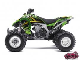 Kawasaki 450 KFX ATV Kenny Graphic Kit