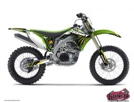 Kawasaki 450 KXF Dirt Bike Kenny Graphic Kit