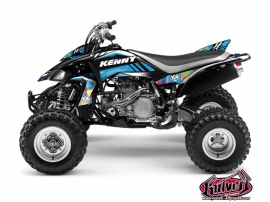 Yamaha 450 YFZ ATV Kenny Graphic Kit Blue