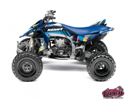 Yamaha 450 YFZ R ATV Kenny Graphic Kit Blue
