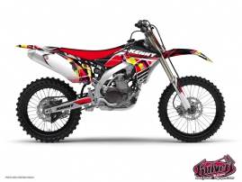 Yamaha 450 YZF Dirt Bike Kenny Graphic Kit Red