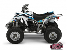 Yamaha Blaster ATV Kenny Graphic Kit Blue