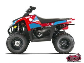 Polaris Scrambler 500 ATV Kenny Graphic Kit