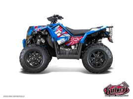 Polaris Scrambler 850-1000 XP ATV Kenny Graphic Kit  Patriot FULL