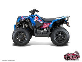 Polaris Scrambler 850-1000 XP ATV Kenny Graphic Kit Patriot