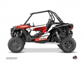 Polaris RZR 1000 Turbo UTV Key Graphic Kit Red