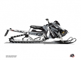 Polaris Axys Snowmobile Klimb Graphic Kit White