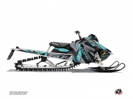 Polaris Axys Snowmobile Klimb Graphic Kit Cyan