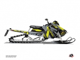 Polaris Axys Snowmobile Klimb Graphic Kit Yellow