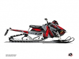 Polaris Axys Snowmobile Klimb Graphic Kit Red