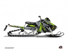 Polaris Axys Snowmobile Klimb Graphic Kit Green