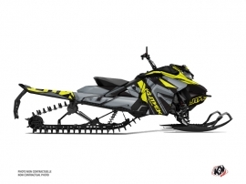 Skidoo Gen 4 Snowmobile Klimb Graphic Kit Yellow
