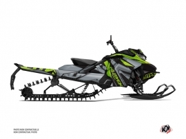 Skidoo Gen 4 Snowmobile Klimb Graphic Kit Green