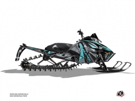 Arctic Cat Pro Climb Snowmobile Klimb Graphic Kit Cyan