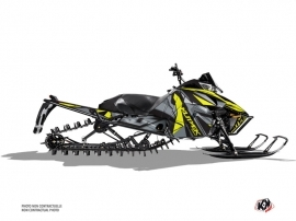 Arctic Cat Pro Climb Snowmobile Klimb Graphic Kit Yellow