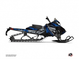 Skidoo REV XM Snowmobile Klimb Graphic Kit Blue
