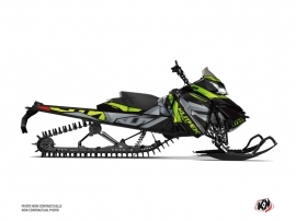Skidoo REV XM Snowmobile Klimb Graphic Kit Green