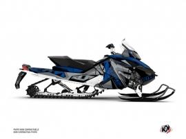 Kit Déco Motoneige Klimb Skidoo REV XP Bleu